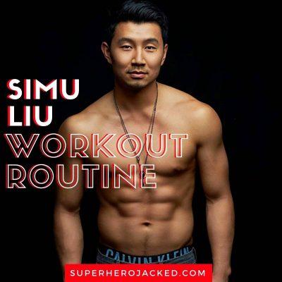 Simu Liu Workout