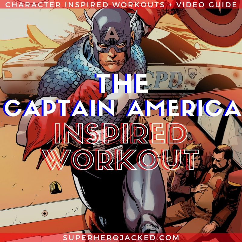 Captain America Inspired Workout 1