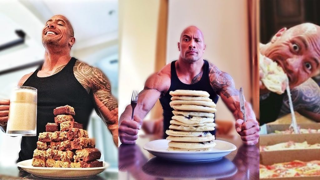 Dwayne Johnson Diet Cheat Meals