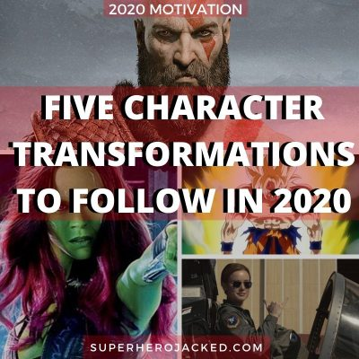 Five Character Transformations To Follow In 2020