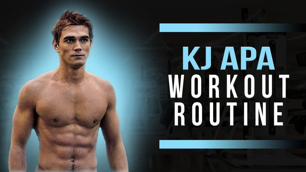KJ Apa Workout