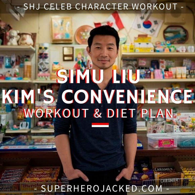 Simu Liu Kim's Convenience Workout and Diet