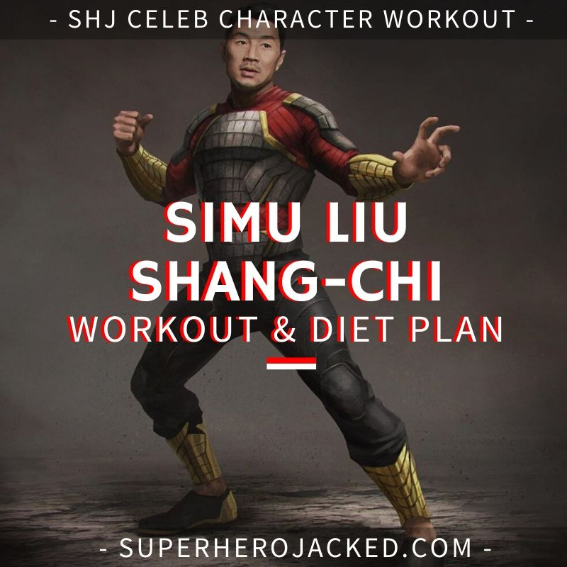 Simu Liu Shang-Chi Workout and Diet