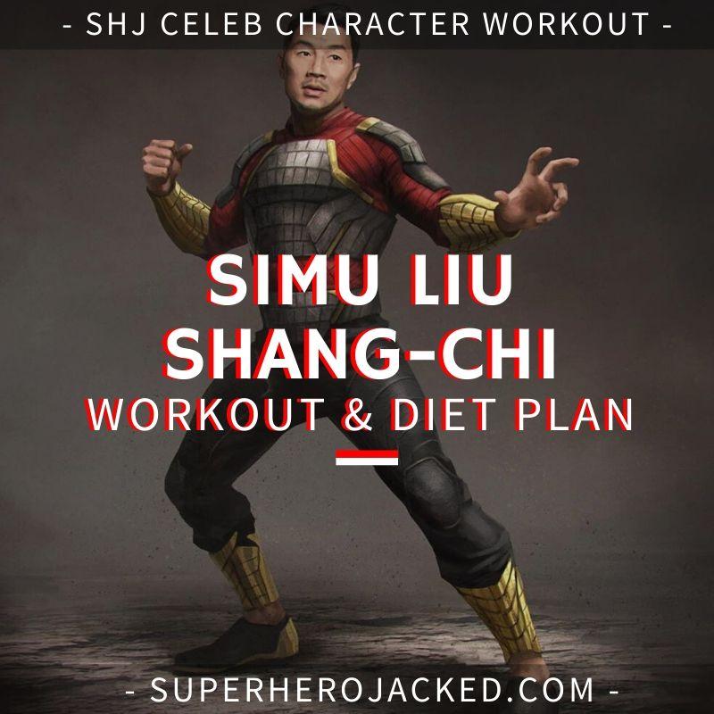 Simu Liu Shang-Chi Workout and Diet