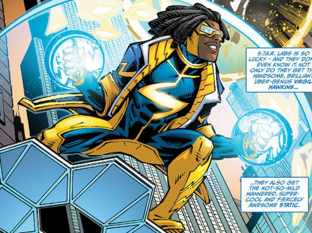 Static Shock workout 1