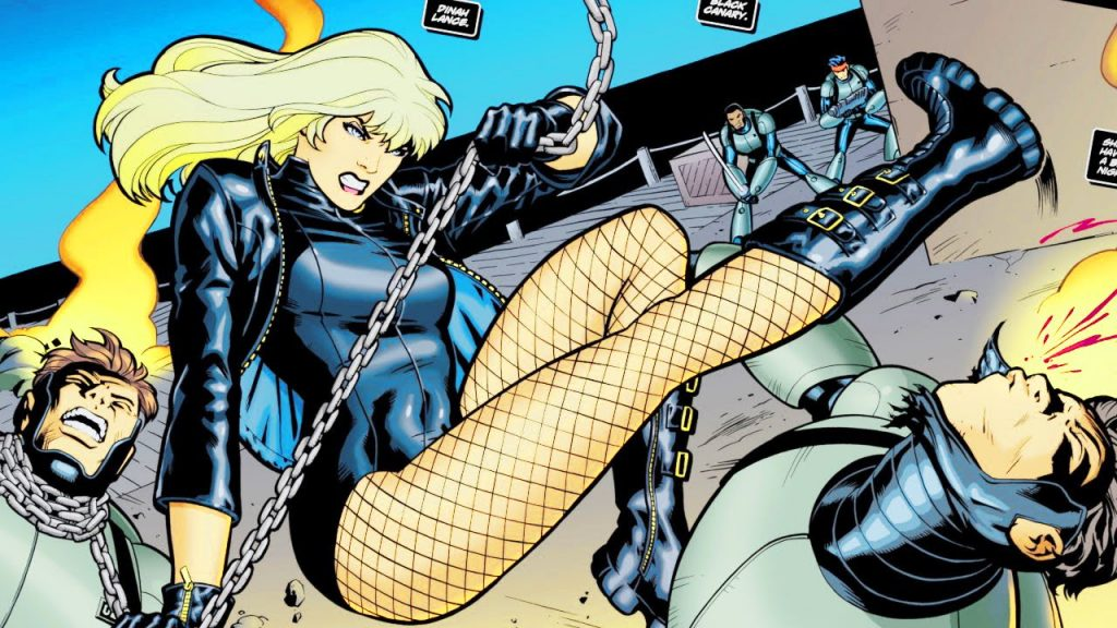 Black Canary Workout 1