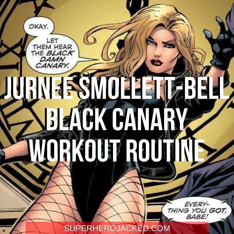 Jurnee Smollett-Bell Black Canary Workout