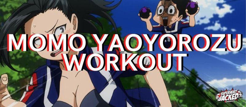 Momo Yaoyorozu Workout (1)