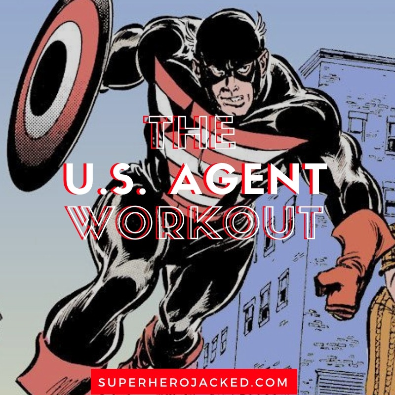 U.S. Agent Workout Routine