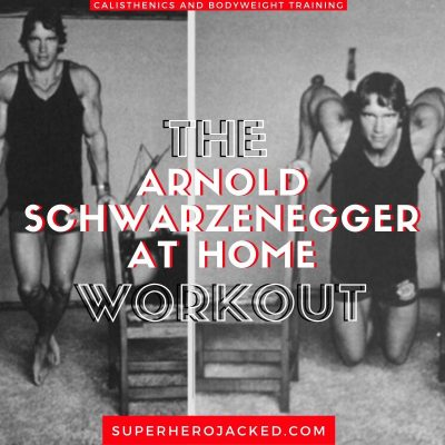 Arnold Schwarzenegger At Home Workout