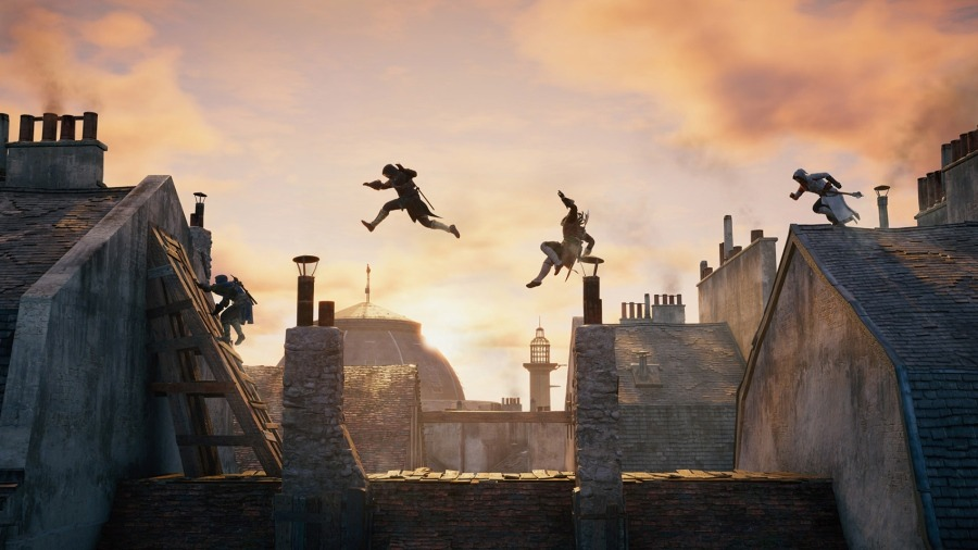 Assassin's Creed Parkour Workout