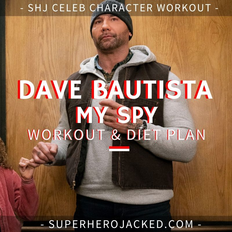 Dave Bautista My Spy Workout Routine