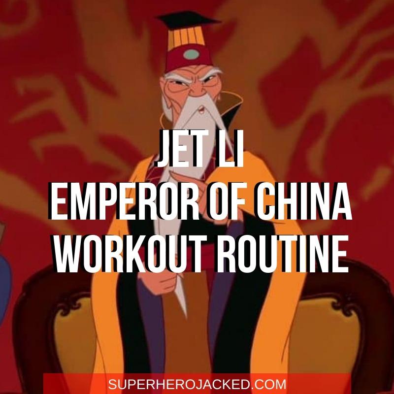Jet Li Emperor of China Workout
