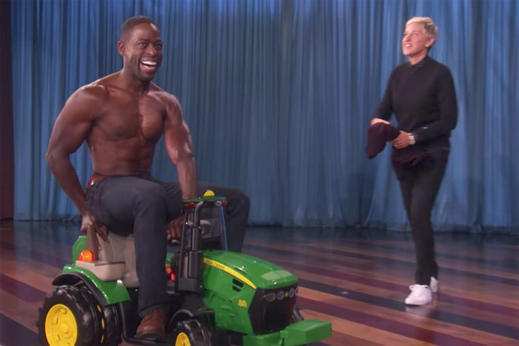 Sterling K. Brown Workout 2