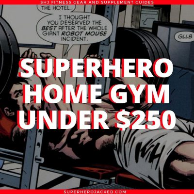 Superhero Home Gym Under $250