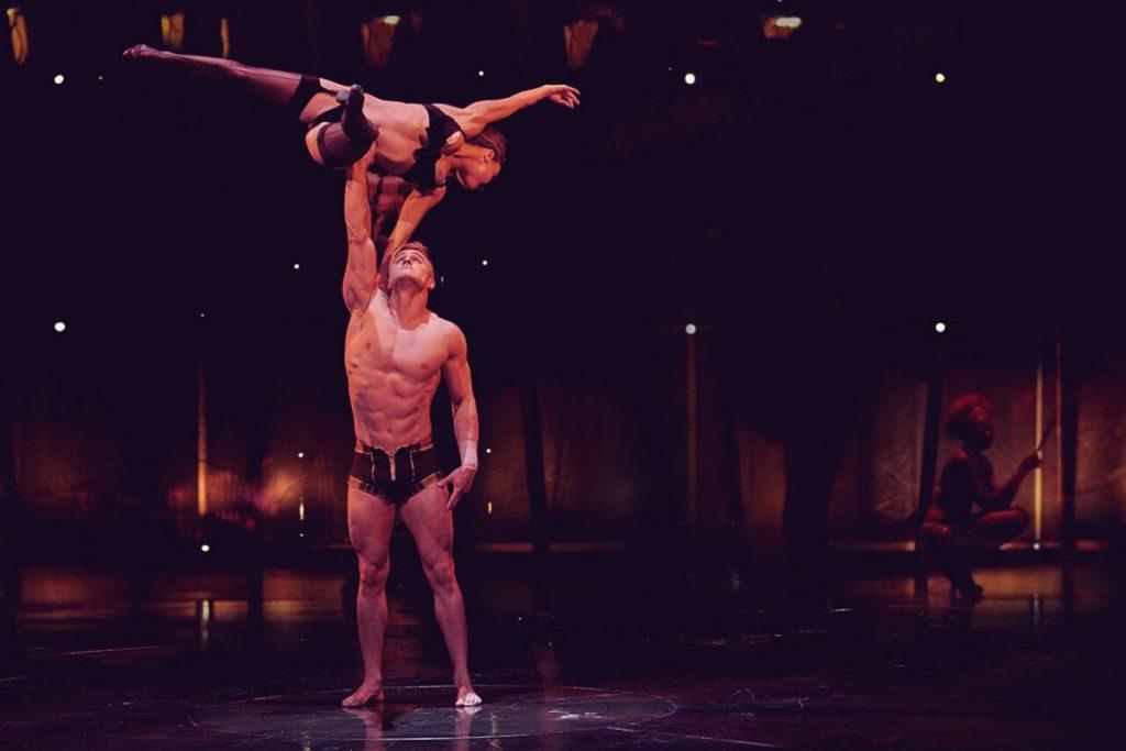 Cirque du Soleil Workout Routine