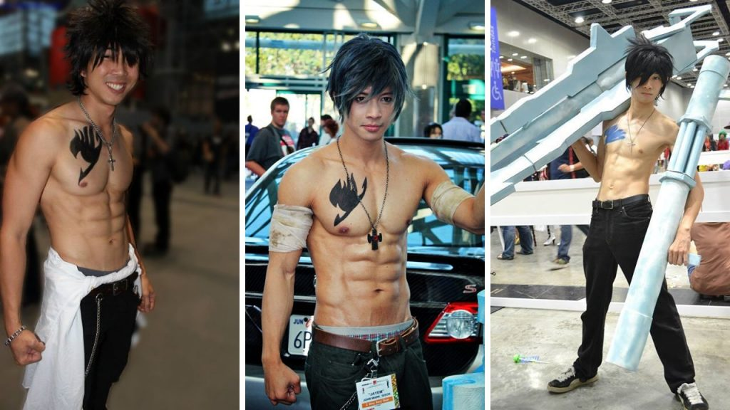Gray Fullbuster Cosplay Workout Routine