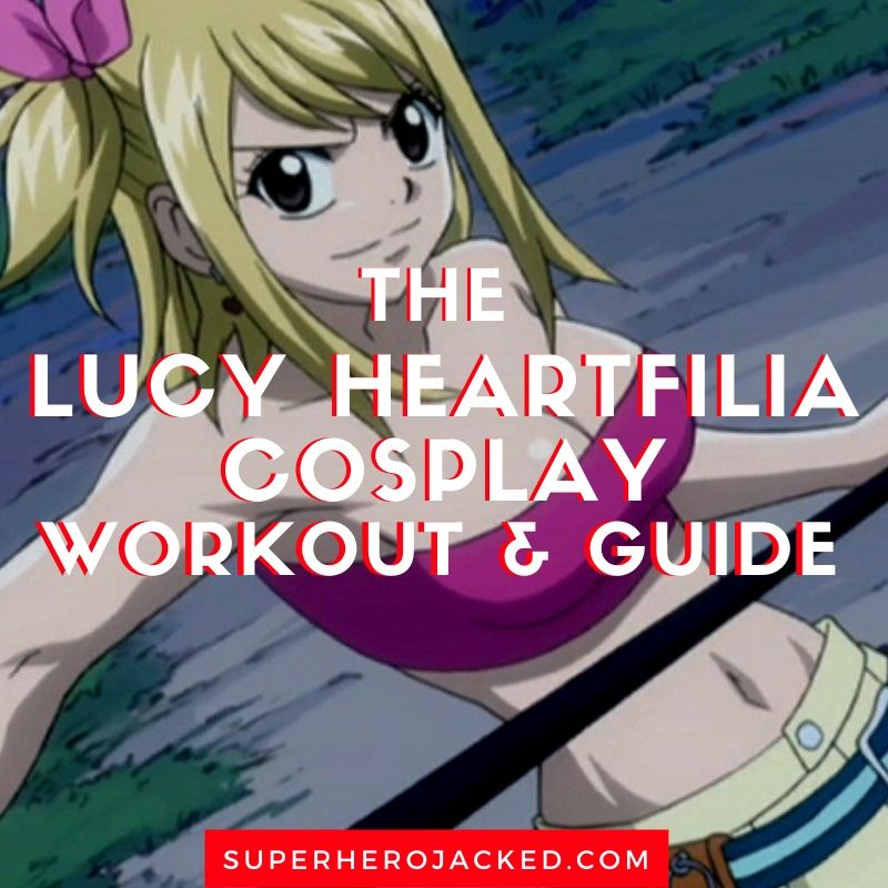 Lucy Heartfilia Cosplay Workout and Guide (1)
