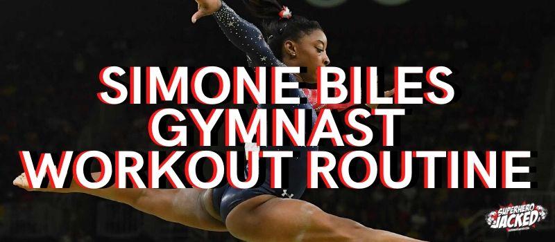 Simone Biles Gymnast Workout