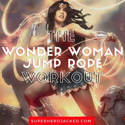 The Wonder Woman Jump Rope Workout