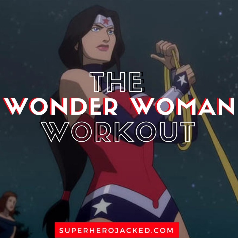Wonder Woman Jump Rope Workout