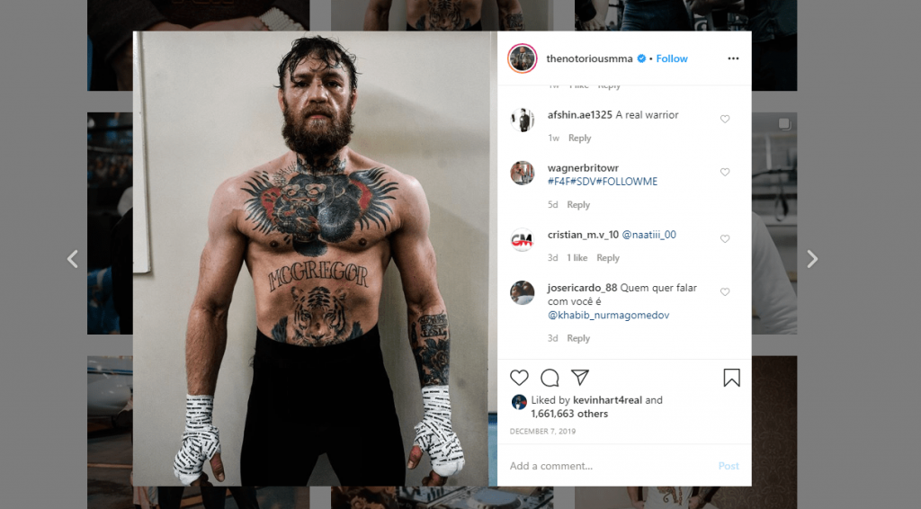 Conor McGregor Workout 1