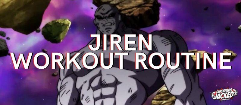 Jiren Workout Routine