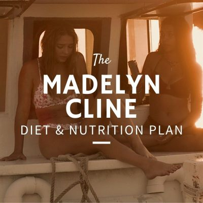 Madelyn Cline Diet and Nutrition