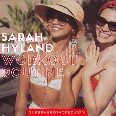Sarah Hyland Workout