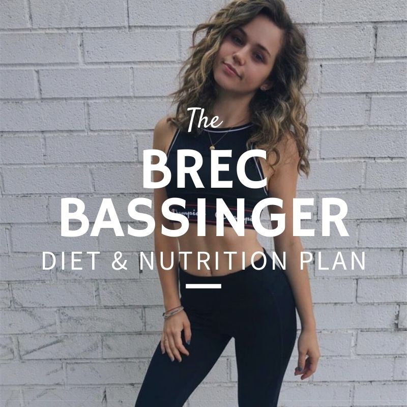 Brec Bassinger Diet and Nutrition