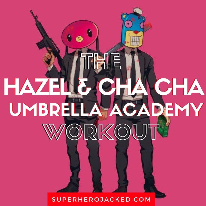Hazel and Cha Cha Workout