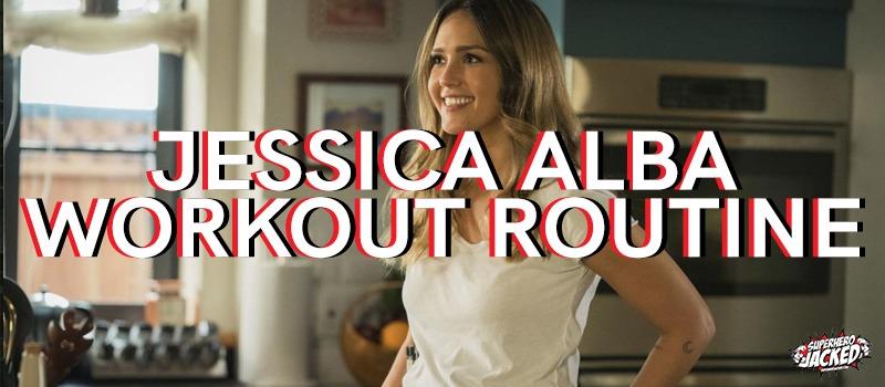 Jessica Alba Workout Routine
