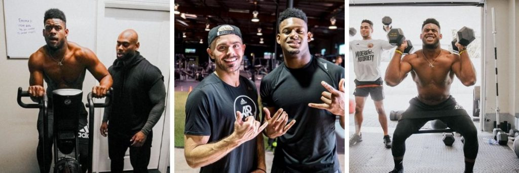 Juju Smith-Schuster Workout 2