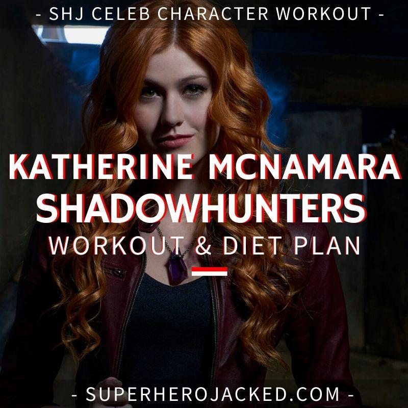 Katherine McNamara Shadowhunters Workout