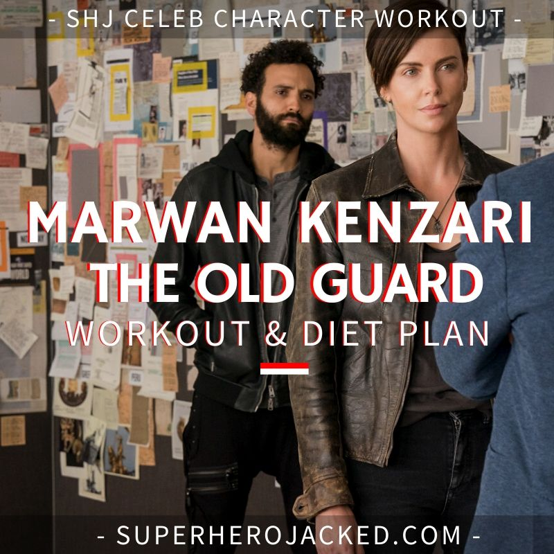 Marwan Kenzari The Old Guard Workout
