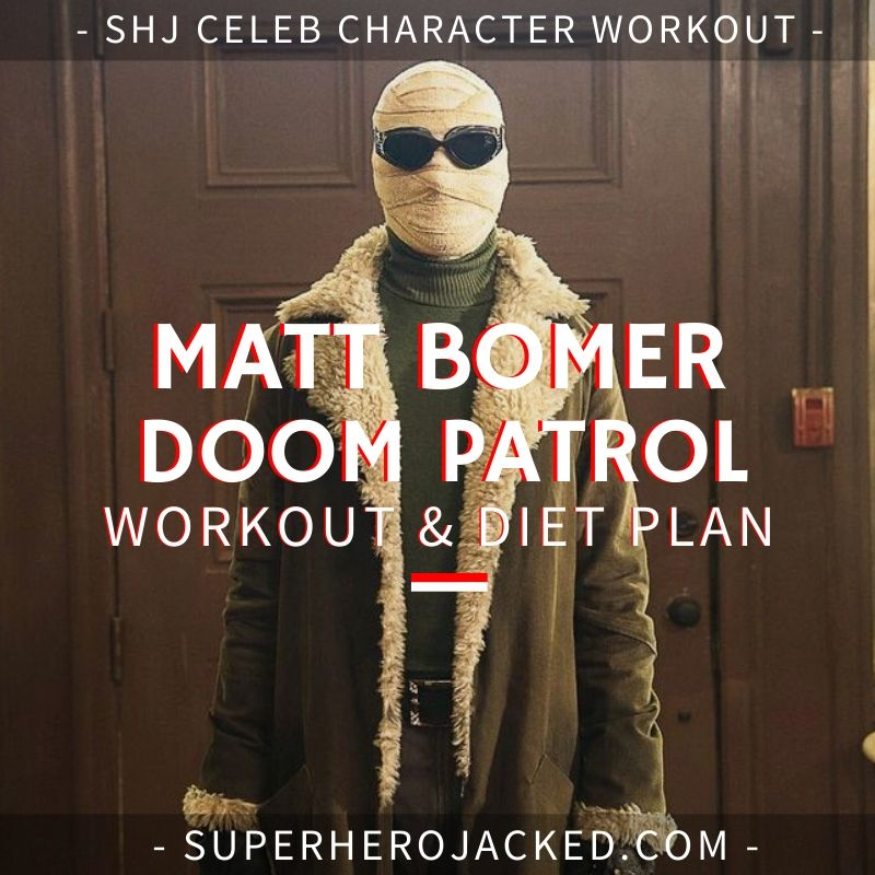 Matt Bomer Doom Patrol Workout