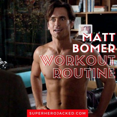 Matt Bomer Workout
