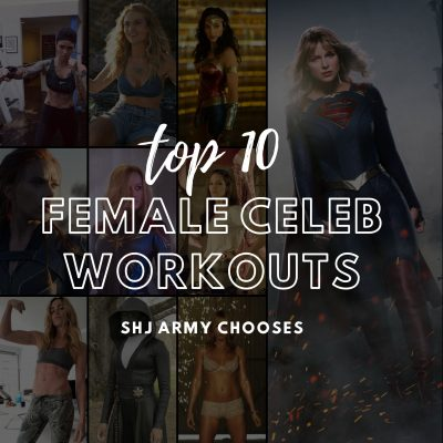 Top 10 Female Celeb Workouts