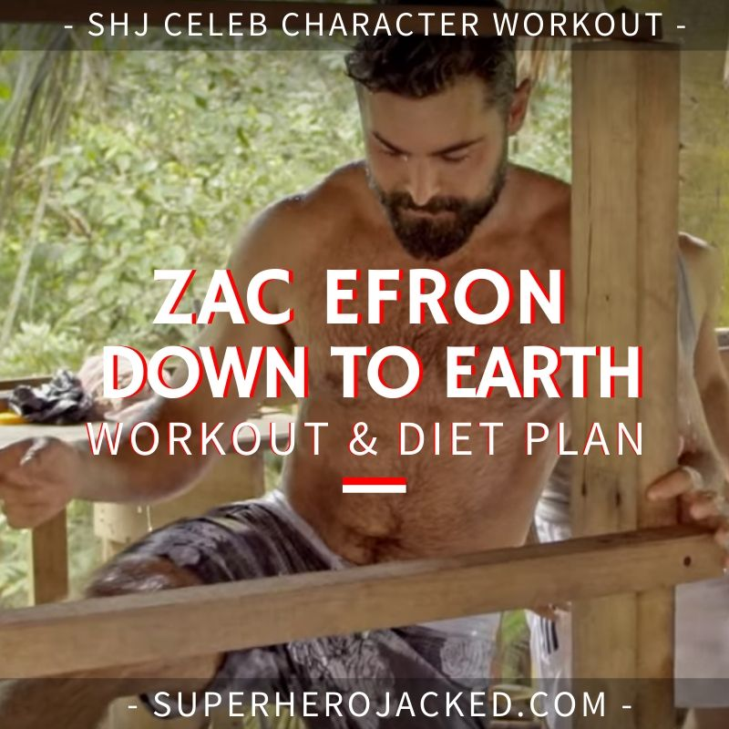 Zac Efron Down To Earth Workout