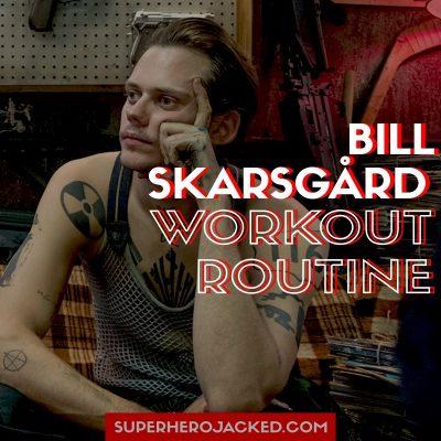 Bill Skarsgård Workout