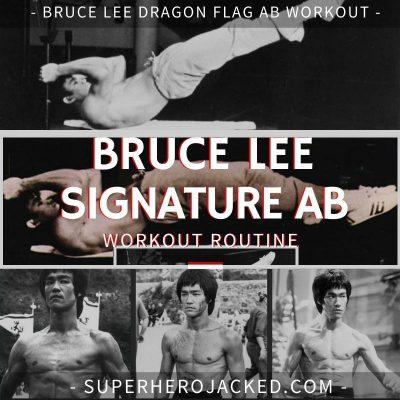 Bruce Lee Dragon Flag Ab Workout