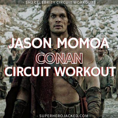 Jason Momoa Conan Circuit Workout