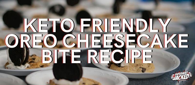 Oreo Cheesecake Bite Recipe