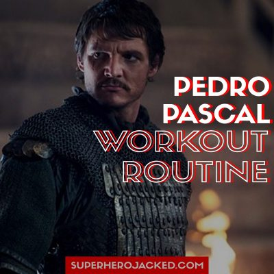 Pedro Pascal Workout
