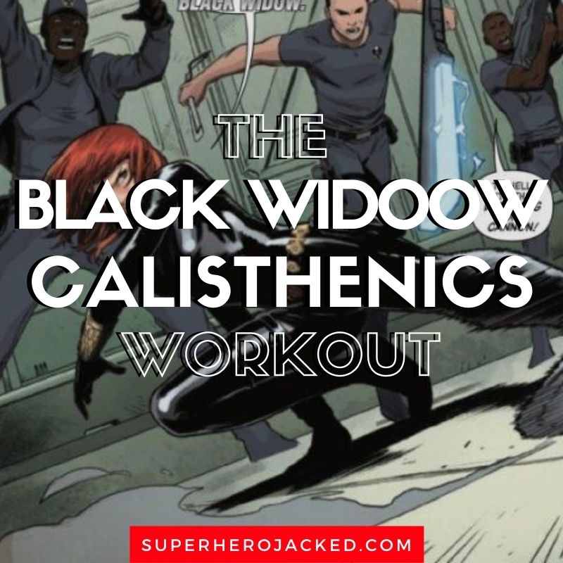 Black Widow Bodyweight Workout