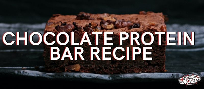 Chocolate Protein Bar Recipe