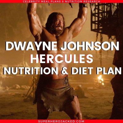 Dwayne Johnson Hercules Diet