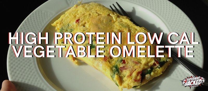 High Protein Vege Omelette