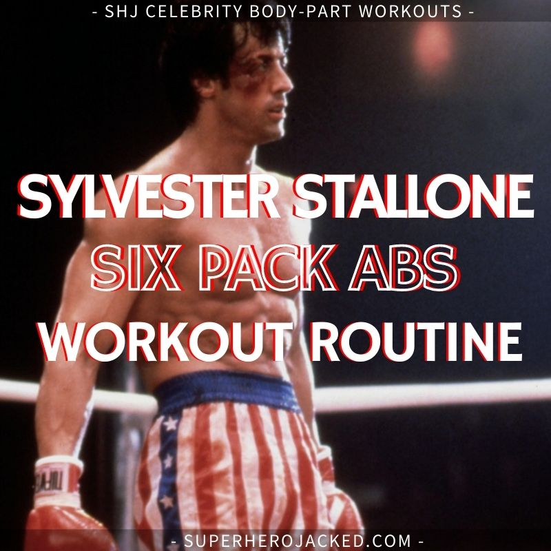 Sylvester Stallone Six Pack Abs Workout