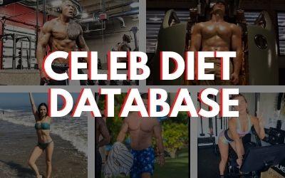 Celeb Diet Database